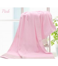 100% Pure Cotton Bath Towel - Pink