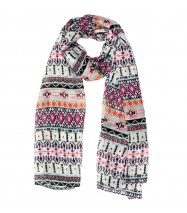 Colourful Tribal Scarf