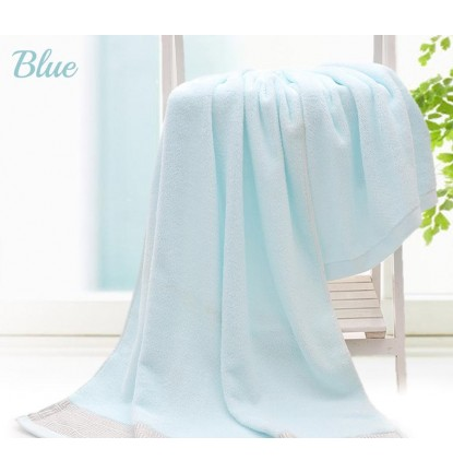 100% Pure Cotton Bath Towel - Blue