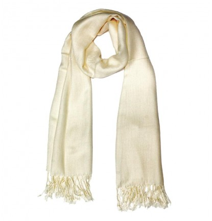Plain Jane Scarf in Cream