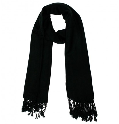 Plain Jane Scarf in Black