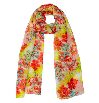 Summer Flower Scarf